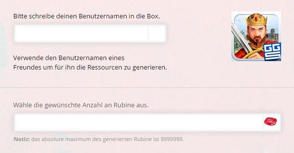 Empire Four Kingdoms Rubine Online Generator