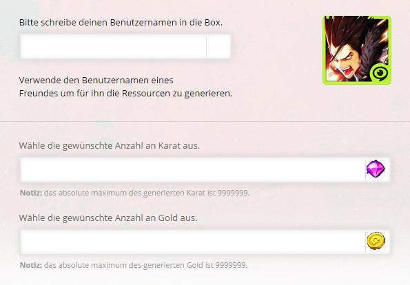 Kritika Die weißen Ritter Karat und Gold Online Generator